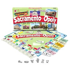 Sacramento-Opoly Board Game