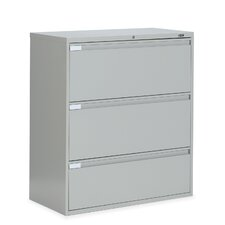 "36"" W Three-Drawer Lateral File"
