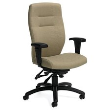 Synopsis High-Back Multi Office Chair with Height Adjustable Arms