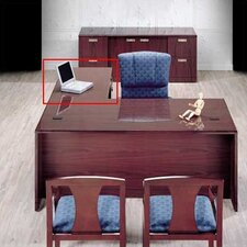 "Vitality 29"" H x 48"" W 3/4 Pedestal Desk Height Right Desk Return"