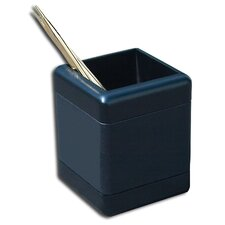 8000 Series Blackwood and Leather Pencil Cup in Blackwood