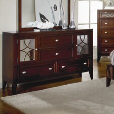Simpson 4 Drawer Combo Dresser