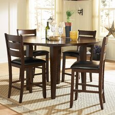 Ameillia 5 Piece Counter Height Dining Set