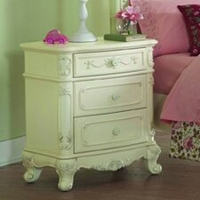 1386 Series 3 Drawer Nightstand