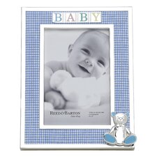 Gingham Bear Picture Frame