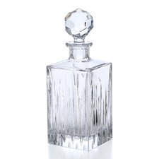 Crystal Soho Squarer Decanter