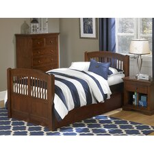 Walnut Street Twin Slat Bedroom Collection