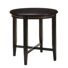 Pub Table with Nail Head Accents