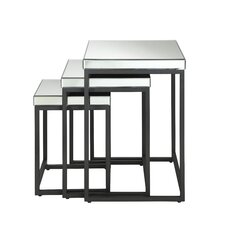 Krystal 3-Piece Nesting Table