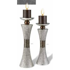 BD 2 Piece Candle Holder Set