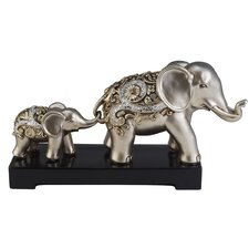 Vine Elephant Decorative Statue