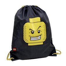 Minifigure Cinch Sack in Black
