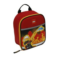 Fire City Nights Vertical Lunch Bag