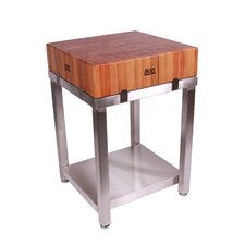 Cucina Americana LaForza Kitchen Island Wood Top