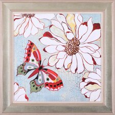 ''Vintage Butterfly II'' Wall Art