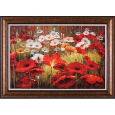 Meadow Poppies II Wall Art