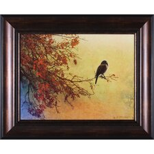 Snow Oak Junco Wall Art