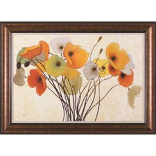 Pumpkin Poppies I Wall Art