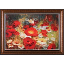 Meadow Poppies I Wall Art