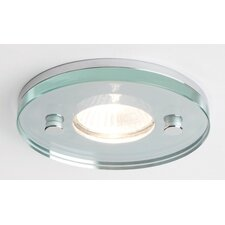Ice Round Downlight in Polished Chrome