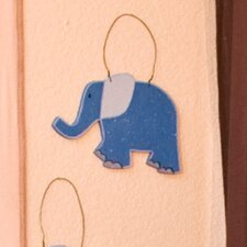 On Safari Elephant Wall Hanging
