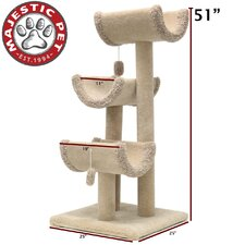 "Majestic Pet 51"" Kitty Cat Jungle Gym"