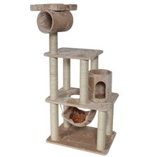 "62"" Casita Fur Cat Tree"