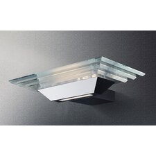 Strato Rectangular 1 Light Wall Sconce