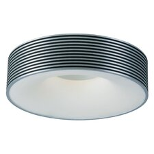 Alumina 1 Light Fluorescent Flush Mount
