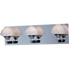 Blossom 3 Light Bathroom Vanity Light