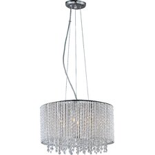 Spiral 7 Light Drum Pendant
