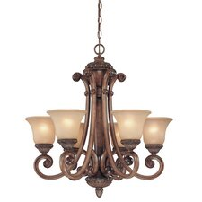 Carlyle 6 Light Chandelier