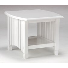 Keywest End Table in White