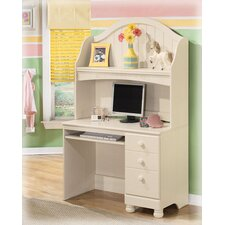"Carey 45"" W Computer Desk with Hutch"