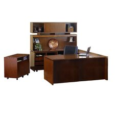 Stella Typical U-Shape Desk Office Suite 9