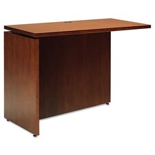 "Stella Series Universal 27"" H x 51"" W Left Desk Return"