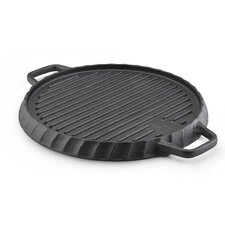 Cast Iron Reversible Grill and Griddle