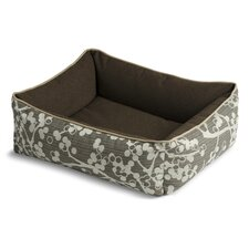 Bumper Style Cherries Dog Bed
