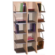 Entertainment Wave Multimedia Storage Rack