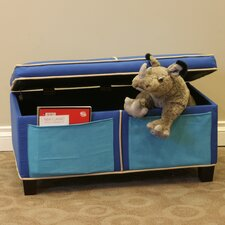 Boys Upholstered Storage Bench