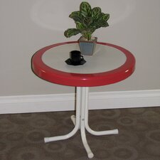 Metal Retro Round Side Table