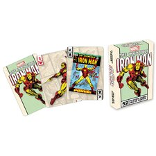 The Invincible Iron Man Playing Cards