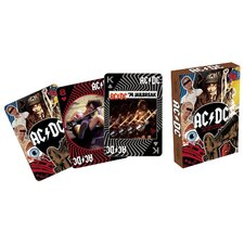 AC DC 2 Playing Cards