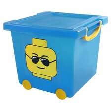 Lego Toy Stacks Basket Toy Box