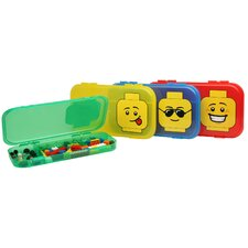 Lego 6 Minifigure Cases Toy Box