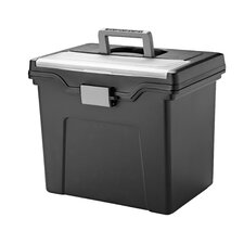 Letter Portable File Box