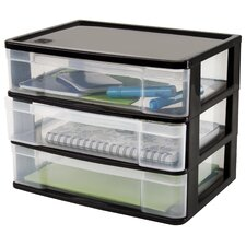 3 Drawer Side Load Desktop Organizer