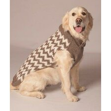 Chevron Dog Sweater