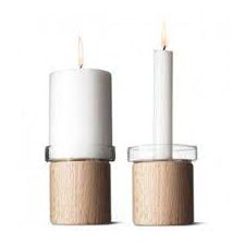 Chunk Candle Holder (Set of 2)