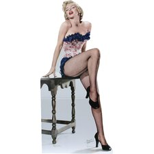 Marilyn Monroe - Net Stockings Life-Size Cardboard Stand-Up